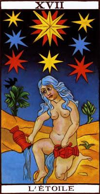 Arcano del tarot de marsella la estrella