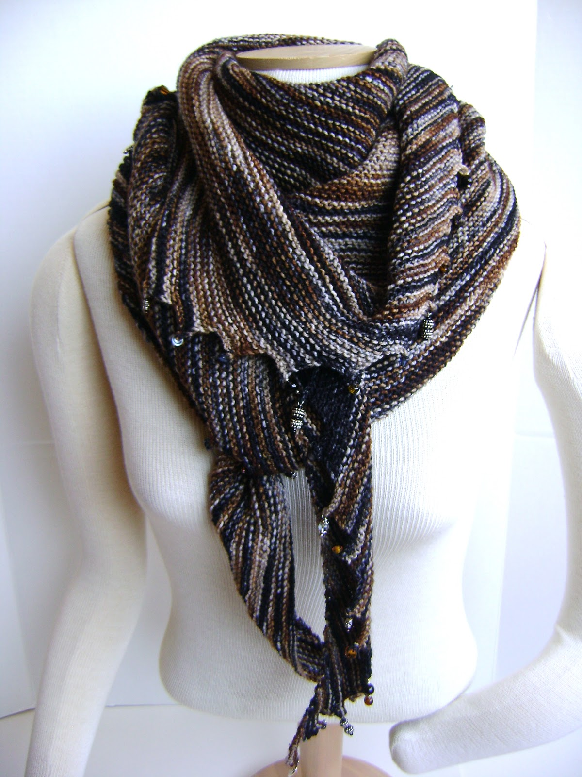 Creative Designs By Sheila Zachariae Charmed Again Hitchhiker Scarf