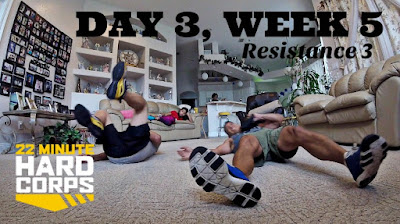 Day 3 Week Five 22 Minute Hard Corps Challenge, 22 minute Hard Corps Resistance 3 Workout, Beachbody on Demand Free Trial, Beachbody Coach Lifestyle, Do Hard Things, 22 Minute Hard Corps Challenge Group