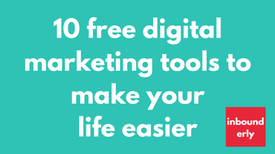 free digital marketing tools 2016