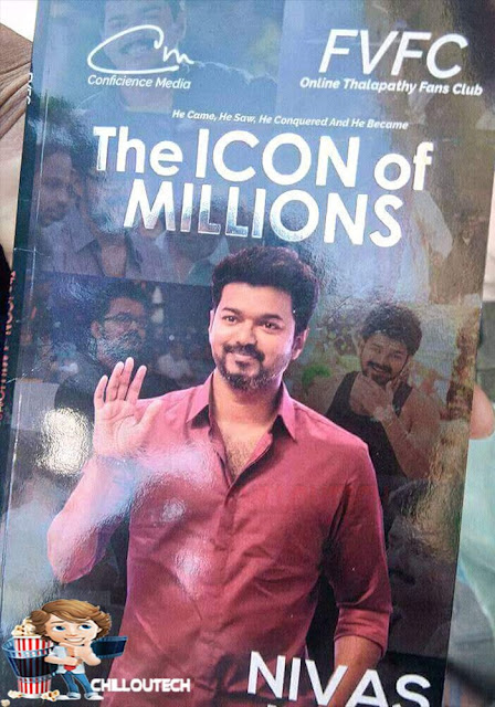 The Icon Of Millions book for Vijay