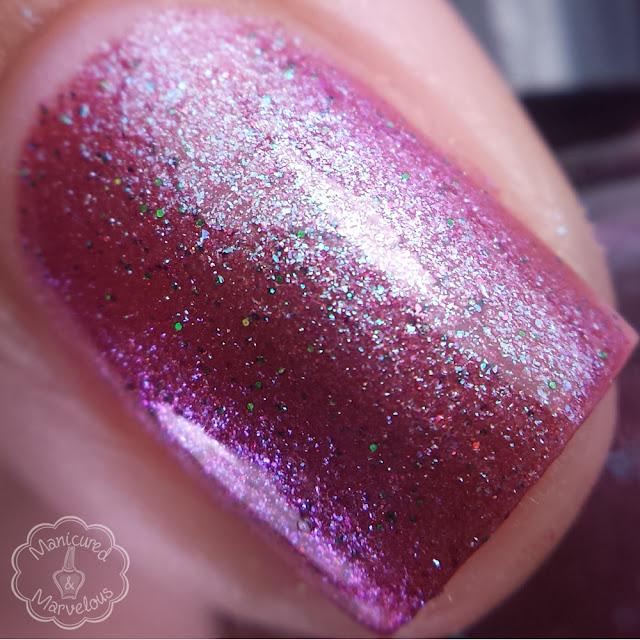 Nail Hoot Lacquer - Licorice Twist