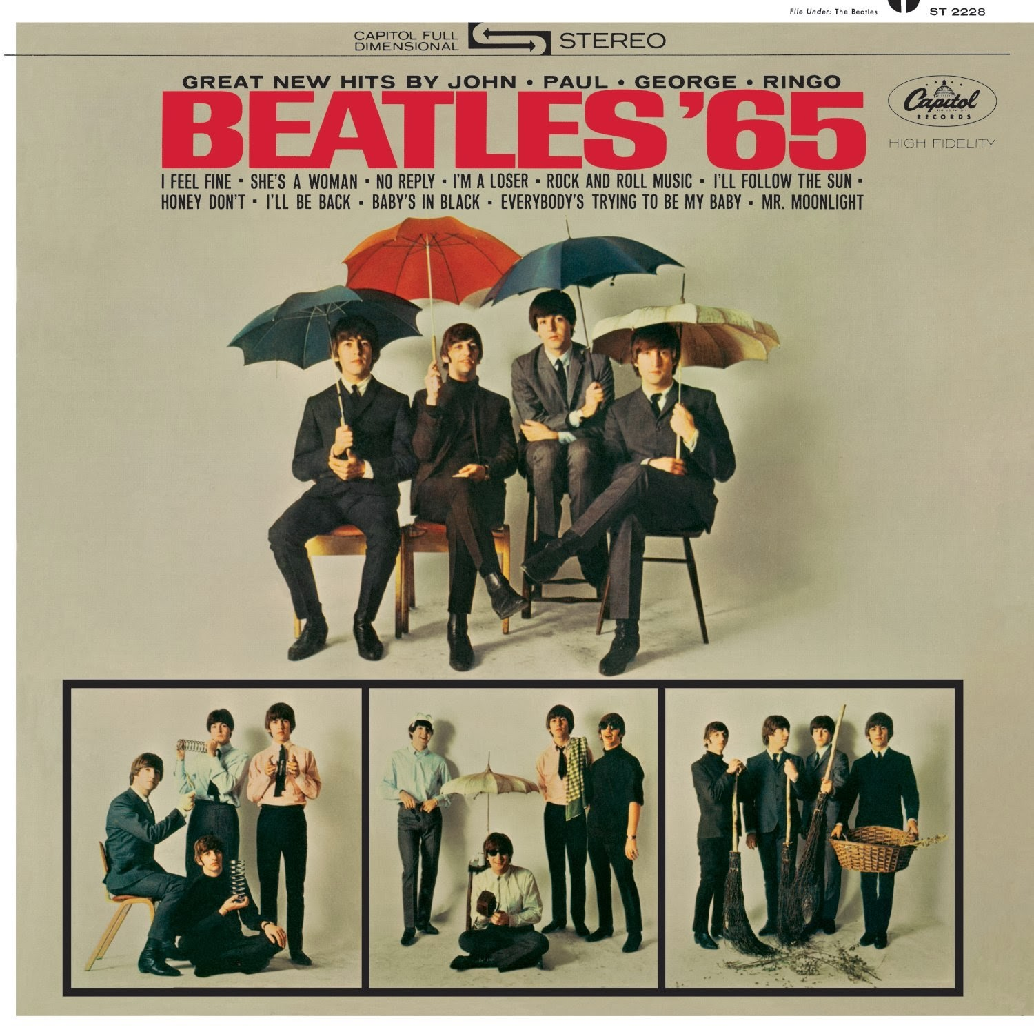 Beatleshock: The Beatles' US Capitol Albums: An Overview
