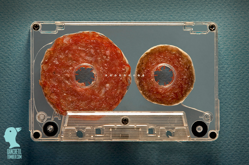 14-Cassette-Tape-Dan-Cretu-Human-Anatomy-with-Food-Art-Sculptures-www-designstack-co