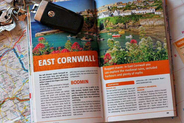 East Cornwall section of guide