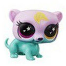 Littlest Pet Shop Series 5 Lucky Pets Glow-in-the-Dark Eyes Brownie (#No#) Pet