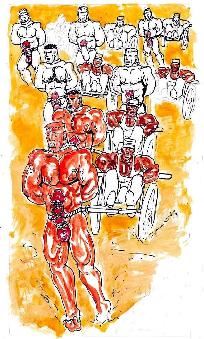 Male domination comics