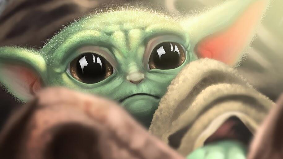 Baby Yoda, The Mandalorian, 4K, #7.753