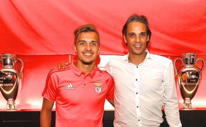 Benfica Futebol Diogo Pinto