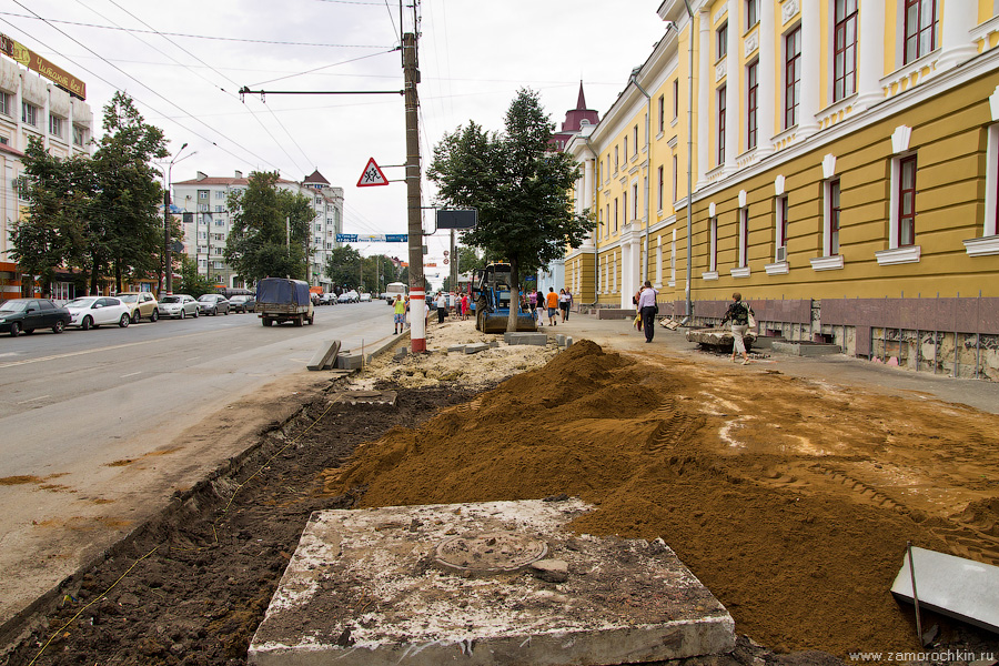 Саранск, проспект Ленина, 12, дом союзов