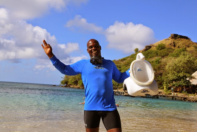 Sea TREK Guide Anthony St. Lucia