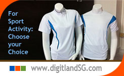 t shirt printing | customise corporate polo shirt by DigitLand
