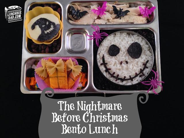Jack skellington kids Halloween lunch