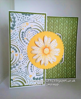 Paperjay Crafts, Delightful Daisy DSPand Daisy Punch