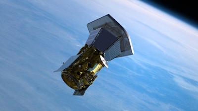 Representación de la sonda saliendo de la Tierra después de separarse de su vehículo de lanzamiento / NASA