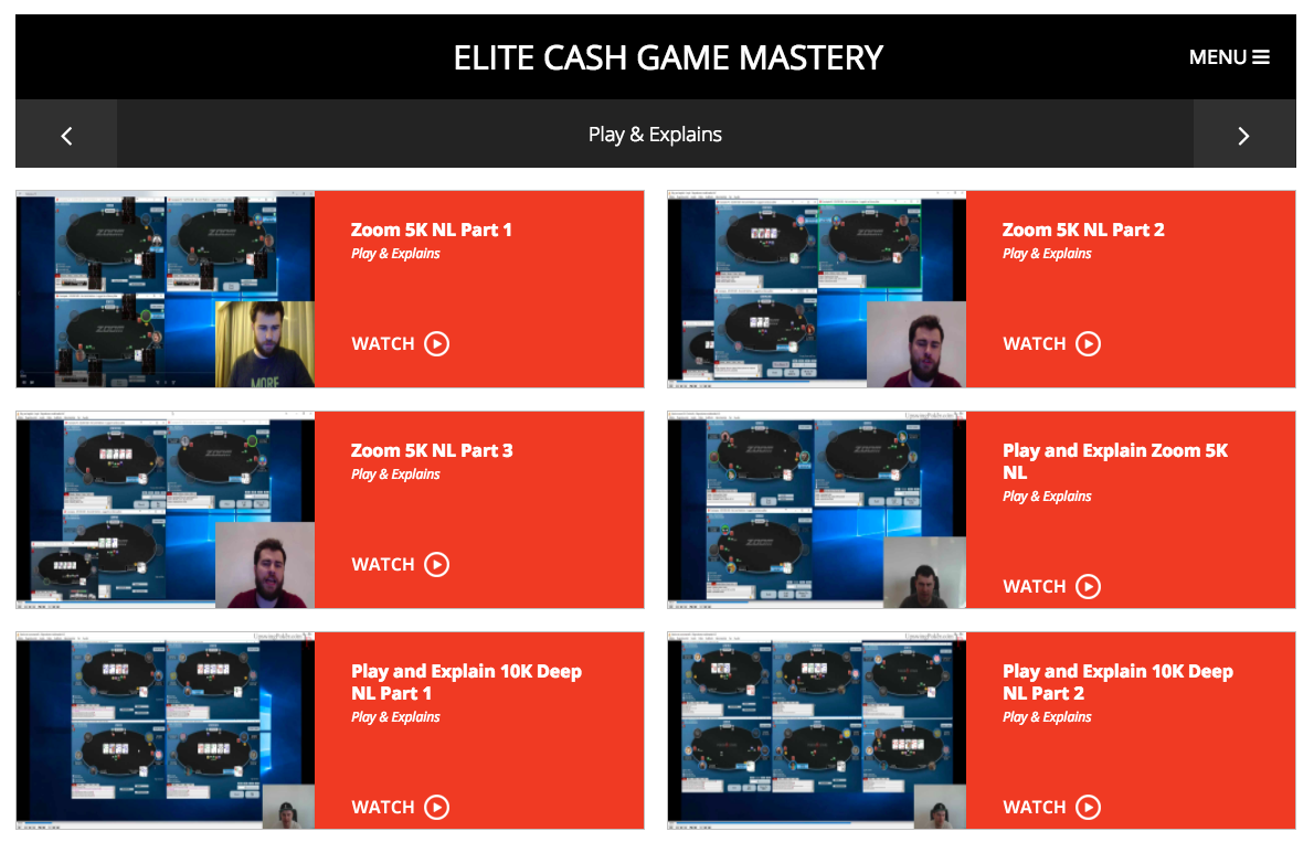 Elite Cash Game Mastery Review 2019 - Complete Walkthrough