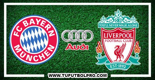 Ver Bayern Munich vs Liverpool EN VIVO Por Internet Hoy 1 de Agosto 2017