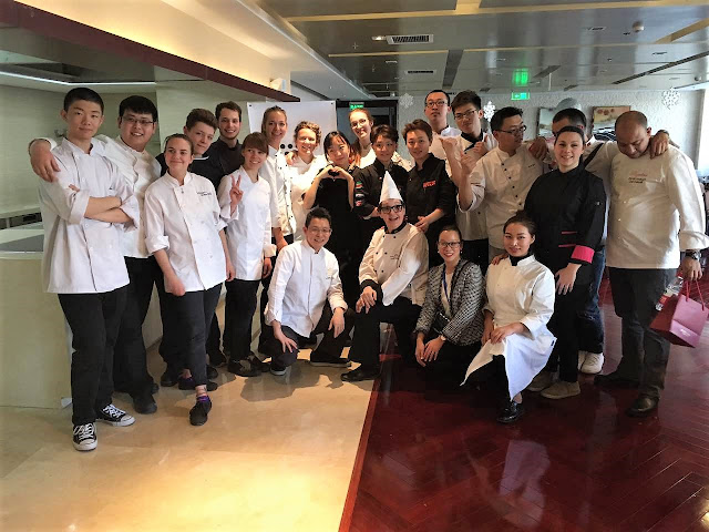 Fête de la francophonie en Chine - Résidence de pâtisserie - Le chocolat belge mis à l'honneur avec Godiva