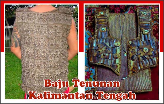 Gambar Baju Tenunan Kalimantan Tengah