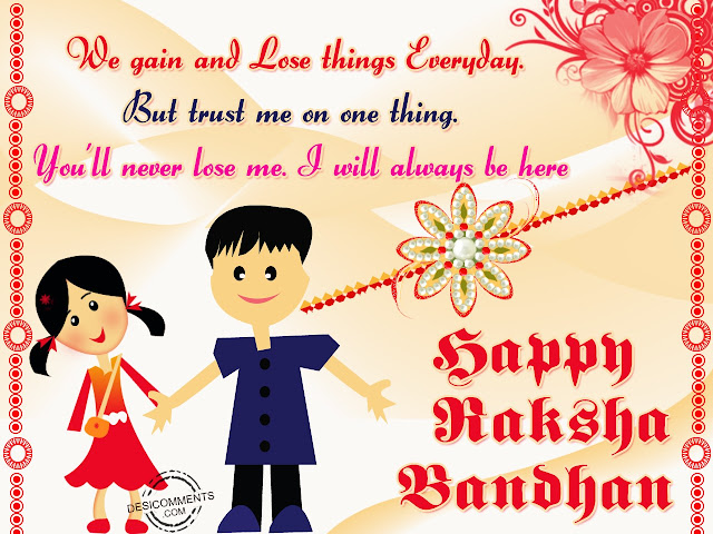 Happy Raksha Bandhan 2018 Images for Sister