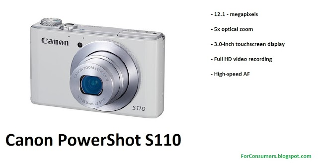 Canon PowerShot S110 camera unboxing, hands-on and video review