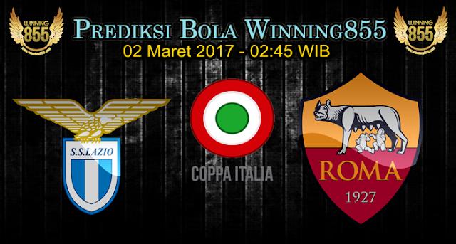 Prediksi Skor Lazio vs AS Roma 02 Maret 2017