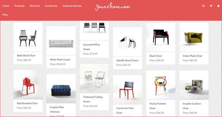 Daftar Koleksi Gratis Template Blogger untuk Toko Online