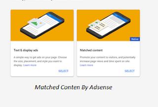 Cara Mudah Mendapakan Matched Conten Dari Google Adsense