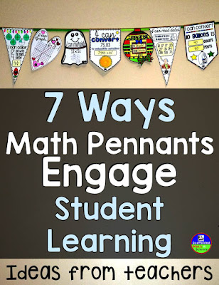 7 Ways to Use Math Pennants to Engage Student Learning