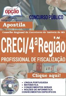 Apostila Concurso CRECIMG 4ª Região Minas Gerais - 2016