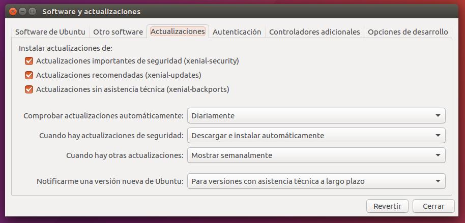 Resultado de imagen de actualizaciones ubuntu