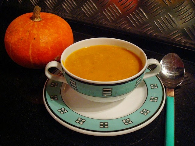 Weight Watchers Slow Cooker Pumpkin Soup