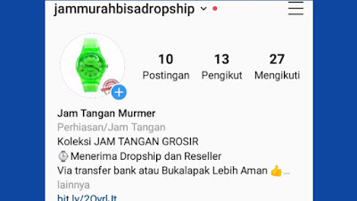 Supplier dropship termurah