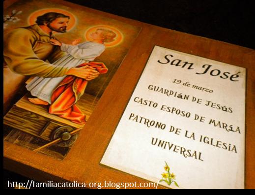 Familia Católica: Manualidad para celebrar la Solemnidad de San José