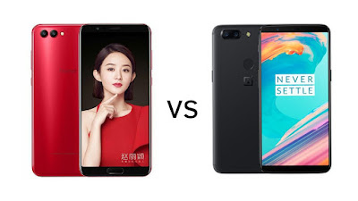 Honor V10 vs OnePlus 5T : 18:9 Display, Dual Rear Camera