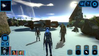 Merupakan game RPG yang telah di rilis oleh Bioware semenjak tahun  Unduh Game Android Gratis Star Wars : Knight Old Republic apk + obb