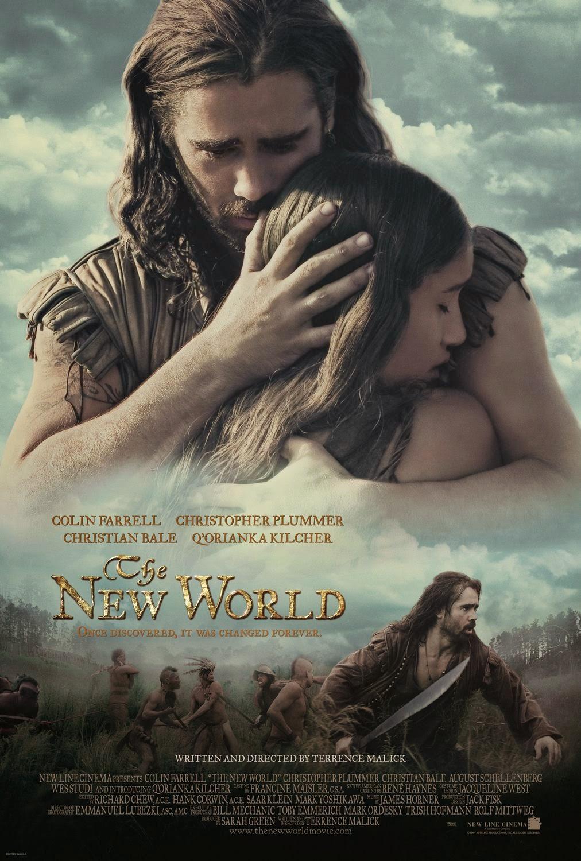 podróż do nowej ziemi plakat recenzja filmu terrence malick colin farrell christian bale