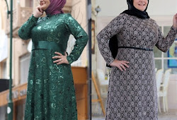 Model Dress Brokat Untuk Orang Tua Gamis Brokat