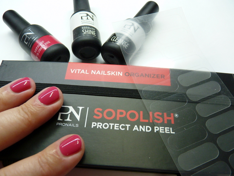 SOPOLISH - manicure hybrydowy na plasterek