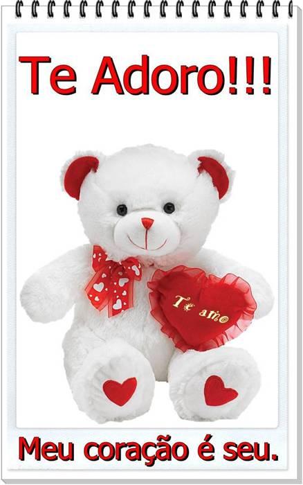 Te Adoro!!! Meu coração é seu.