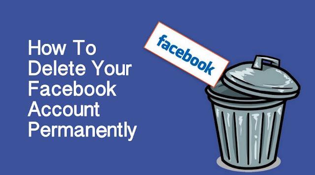 كيف اقوم بتعطيل  وحذف حسابي علي الفيس بوك نهائيآ