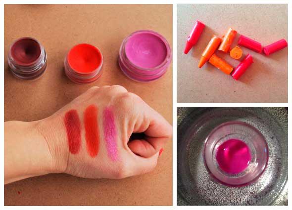 pinta labios, crayolas, belleza, estetica, manualidades