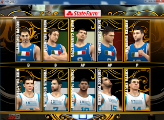 NBA 2K13 National Teams Mod FIBA2K13