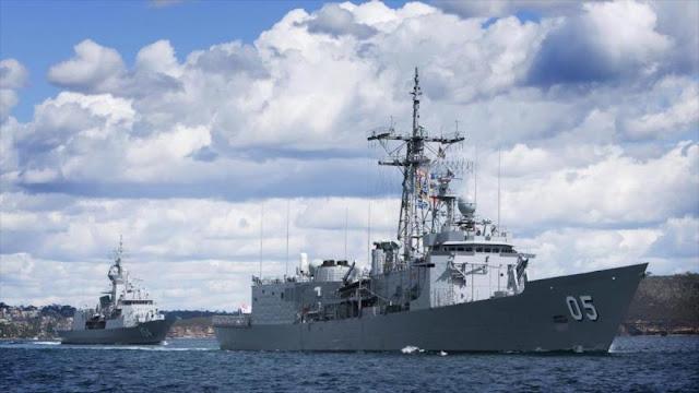 Australia arma sus buques ante amenaza de Corea del Norte