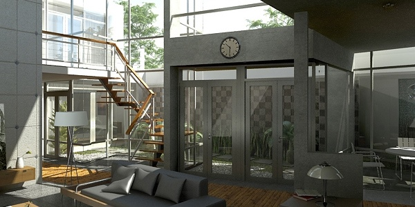Dekorasi ruangan tinggi