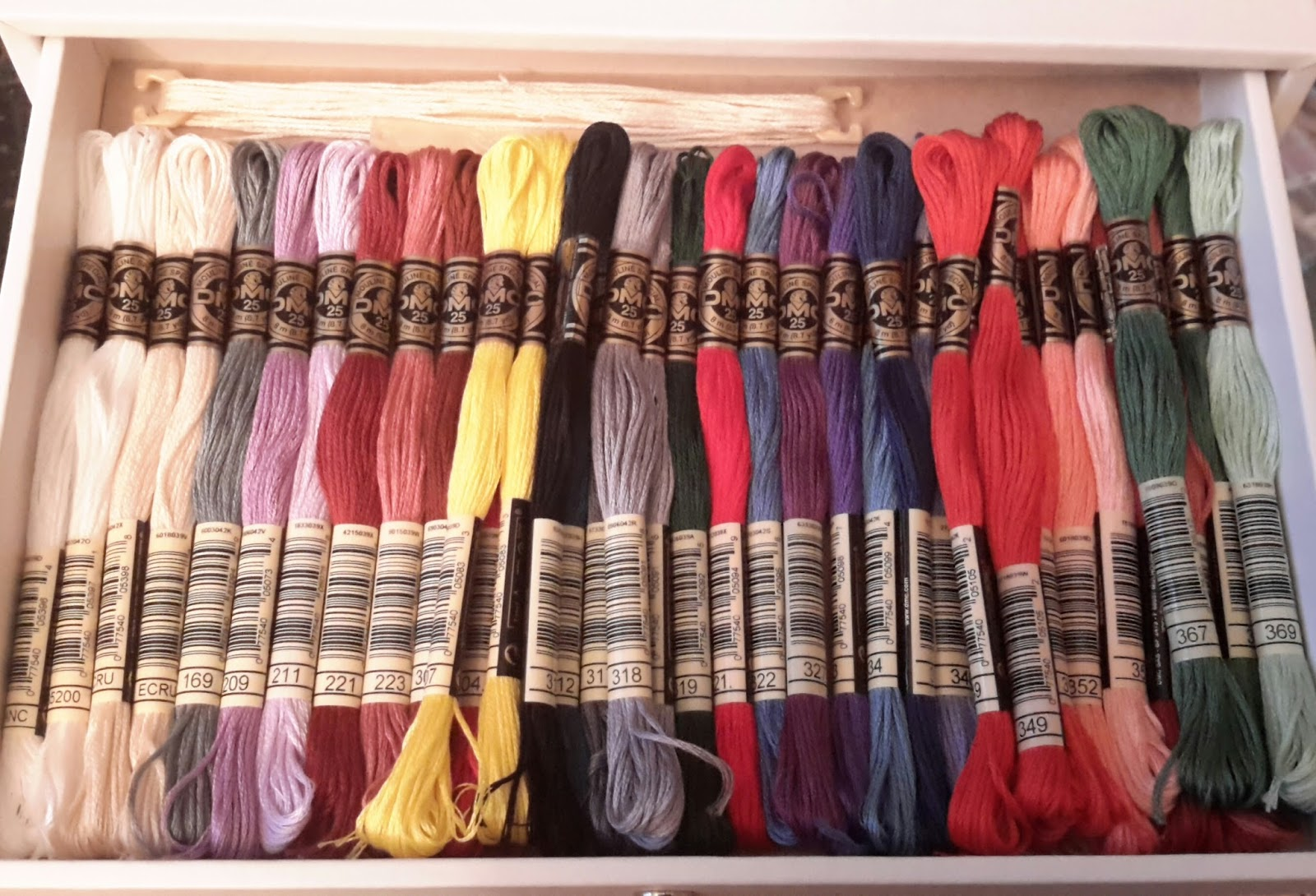 A little bit of heaven embroidery thread storage ideas