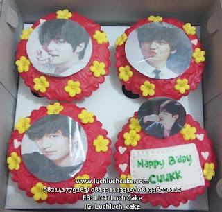 Cupcake Ulang Tahun Lee Min Ho