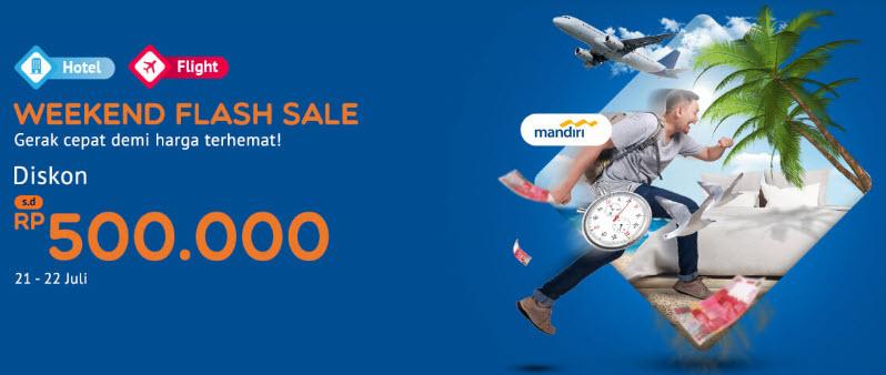 MisterAladin - Promo Weekend Flash Sale Dapat Diskon s.d 500 Ribu (s.d 22 Juli 2018)