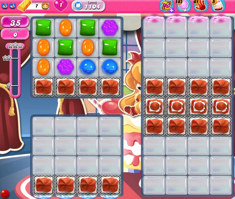 Candy Crush Saga 1104