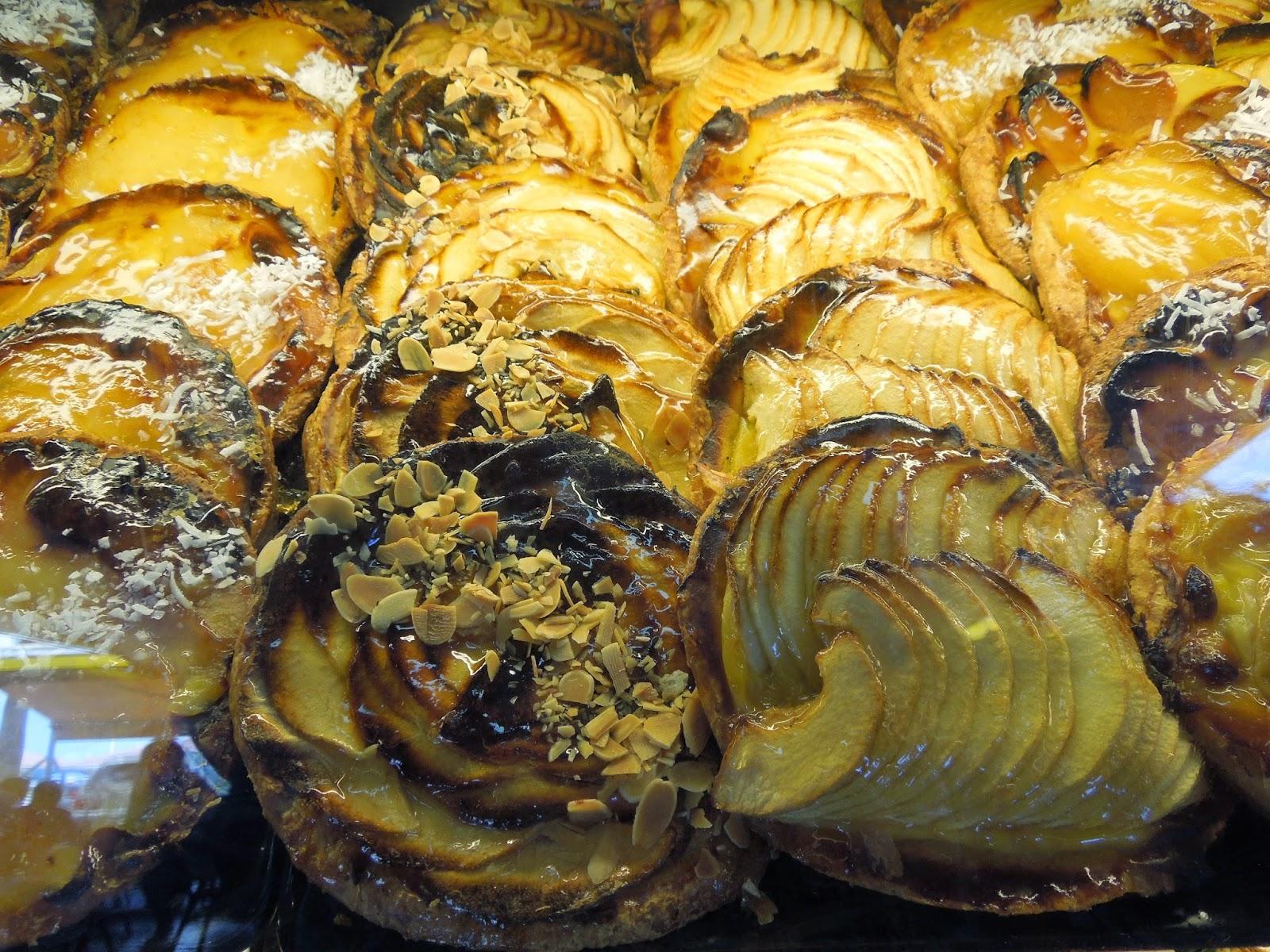 pastries at Sarafina's
